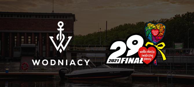 obrazek akcji z wosp logo firmy prowadzacej kursy motorowodne we wroclawiu